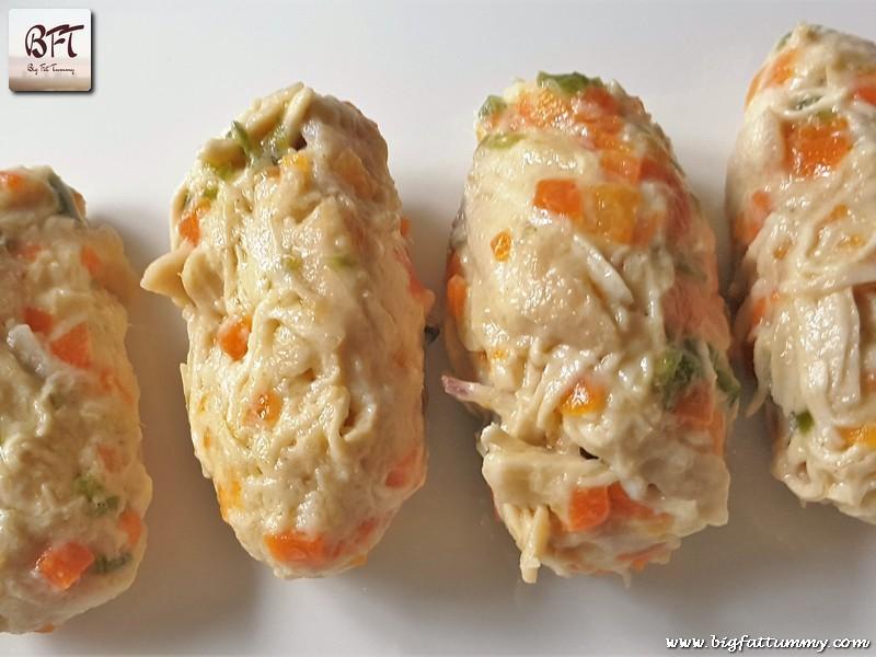 Preparation of Chicken Croquette