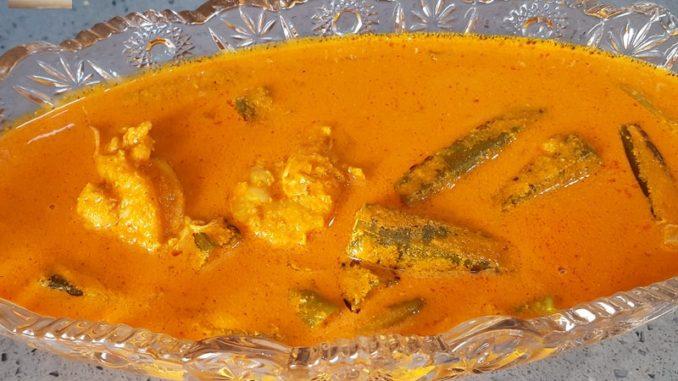 Goan Prawn Okra Curry