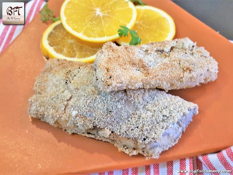 Sea Bass Fillet Rava fried