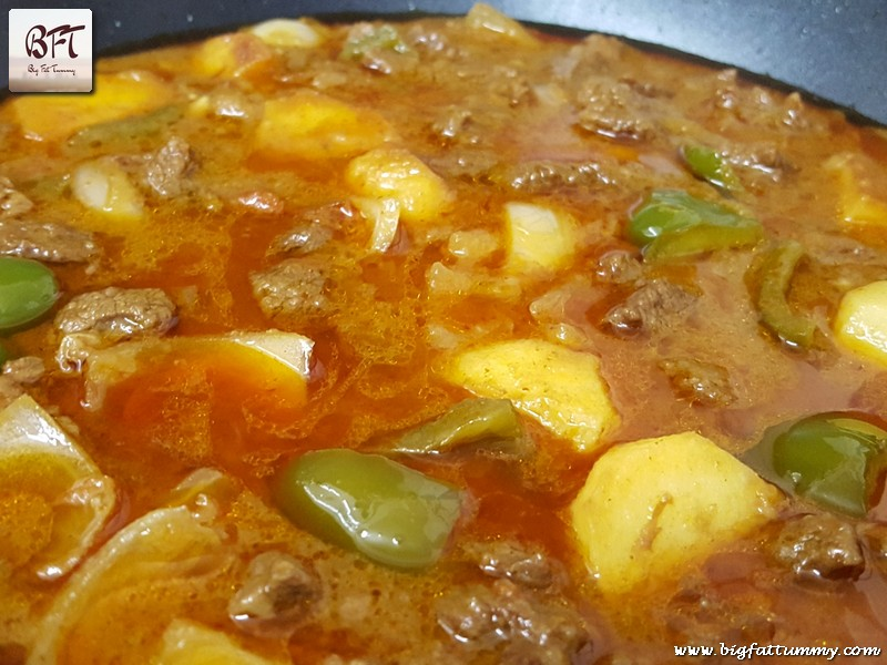 Preparation of Tangy Beef Curry
