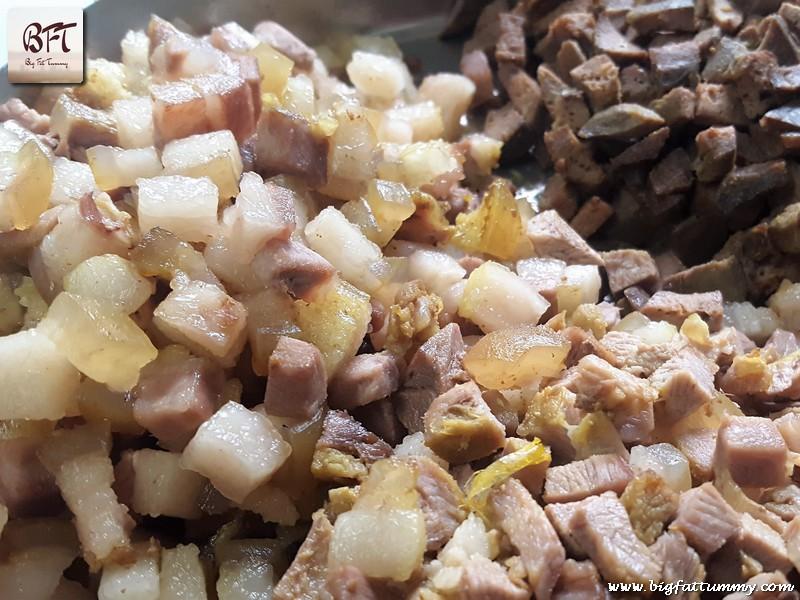 Preparation of Goan Pork Sorpotel