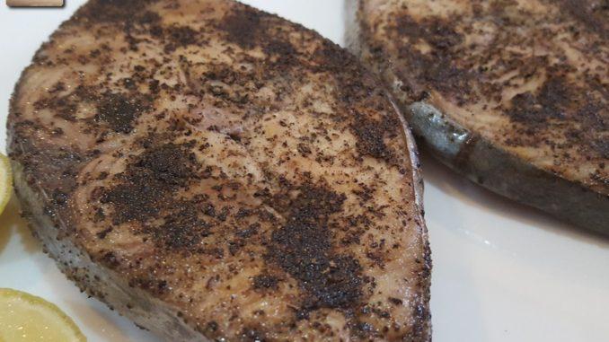 Kingfish Lemon Pepper Fried
