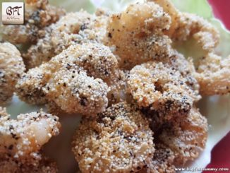 Pepper Rawa Fried Prawns