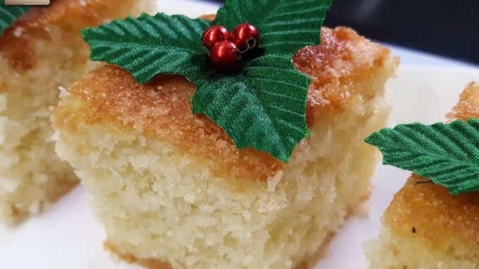 Dessicated Coconut Cake