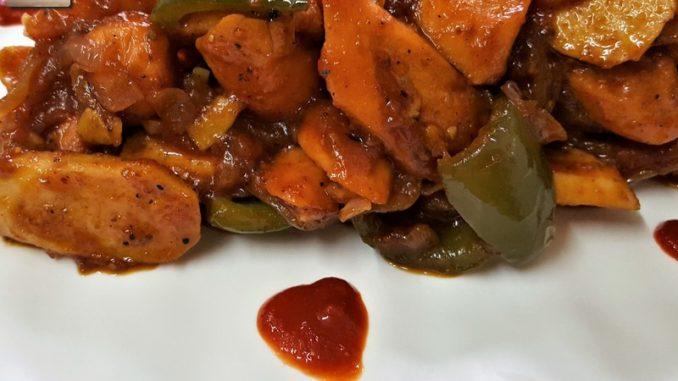 Chicken Sausage Stir Fry