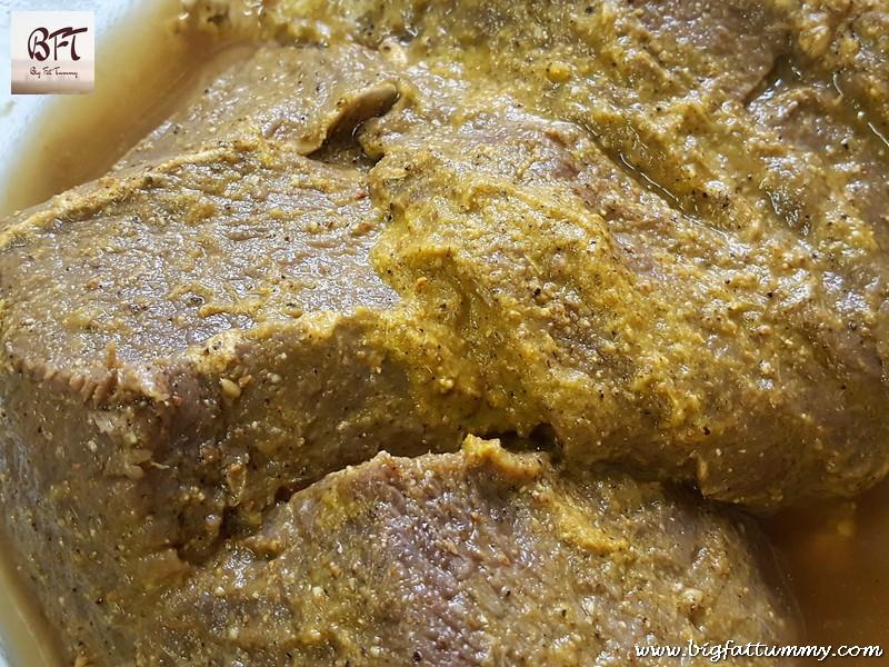 Making of Goan Roast Beef