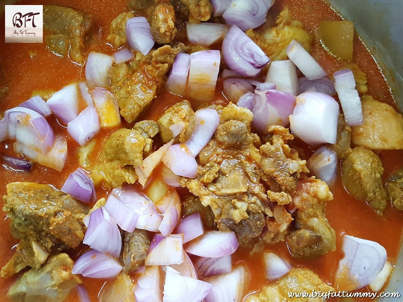 Making of Pork Curry