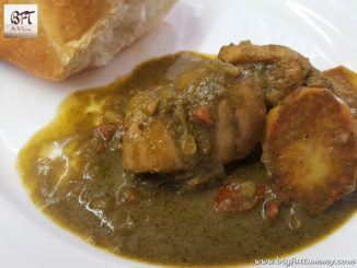 Goan Green Chicken