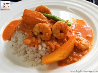 Prawn and Raw Mango Curry