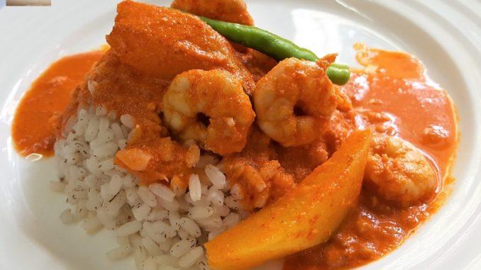 Prawn and Raw Mango Curry
