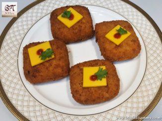 Cheesy Potato Squares