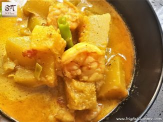 Goan Red Pumpkin Prawn Verdur / Curry