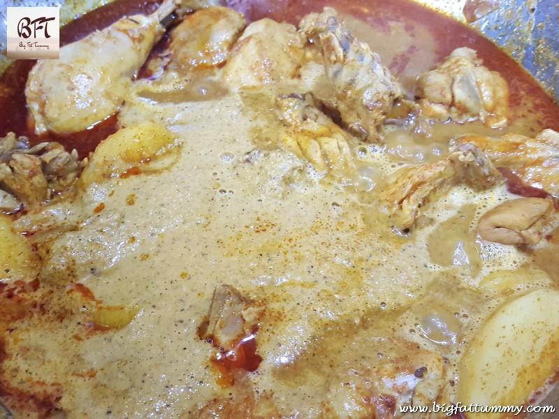 Preparation of Chicken Curry