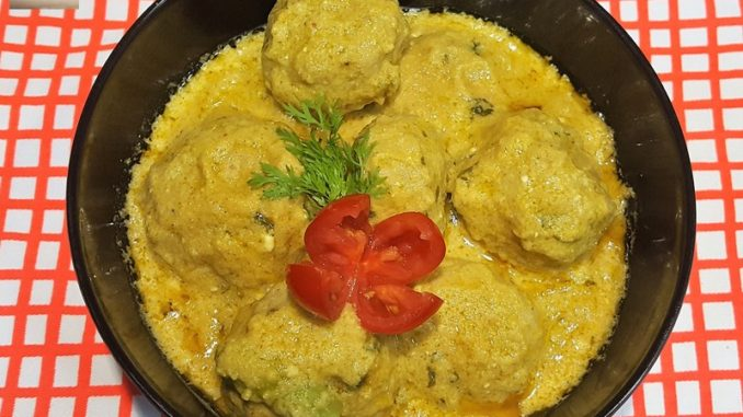 Mughlai Chicken Meatballs