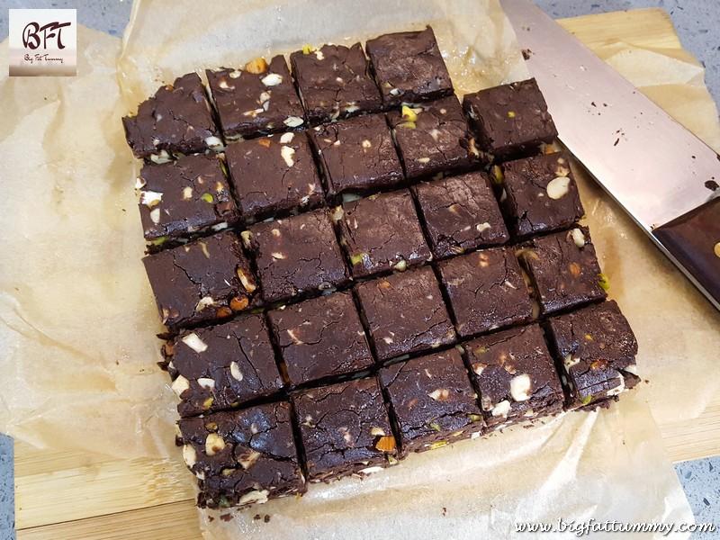 Making of Dark Chocolate Fudge