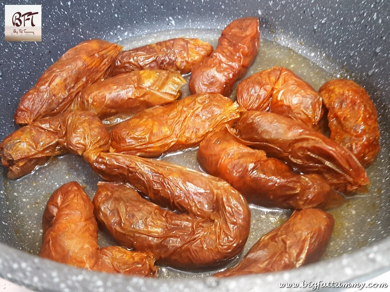 Preparation of Goan Chorizo Masala Curry
