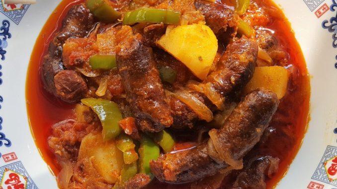 Goan Chorizo Masala Curry 07