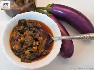 Sweet Brinjal Pickle