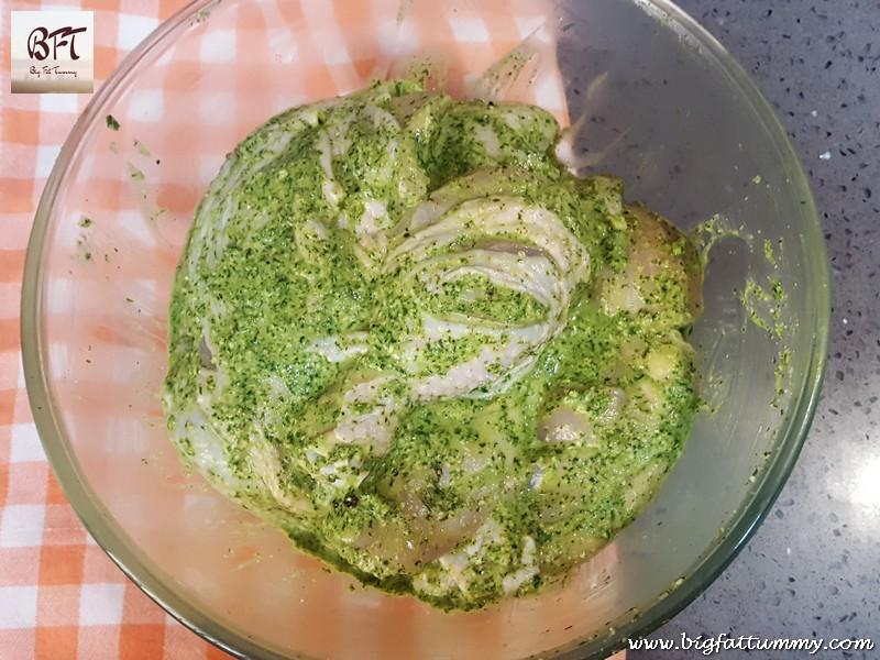 Preparation of Chicken Cashew Corriander Roast