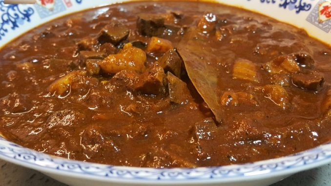 Pork Meat Liver Masala / Quick Goan Sorpotel