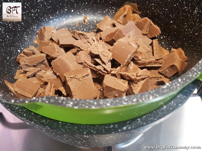 Making of Fruit Cake Chocolate Pops