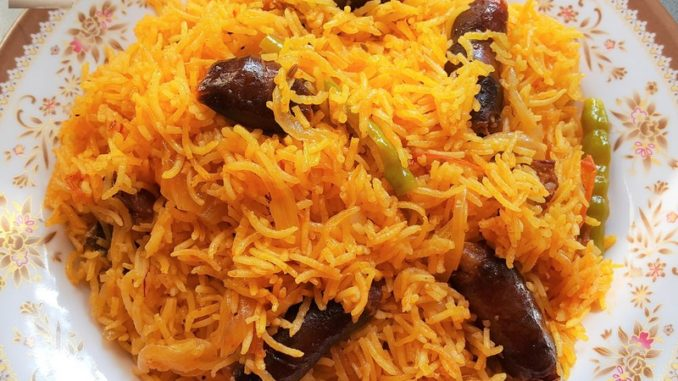 Goan Chorizo Pulao