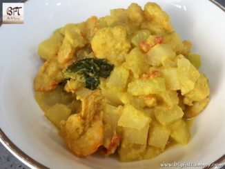 Prawn Kohlrabi / Ganth Gobi / Naab / German Turnip / Knol Khol