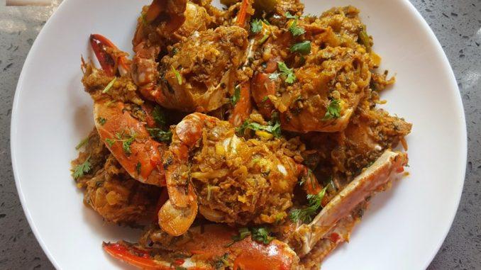 Crab Masala Sukkem