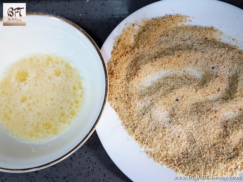 Preparation of Prawn Potato Chops