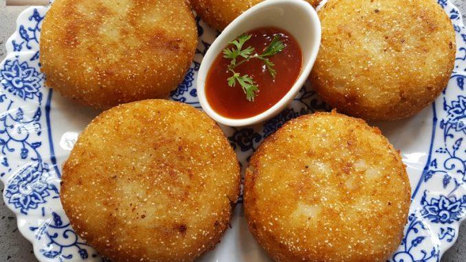 Prawn Potato Chops