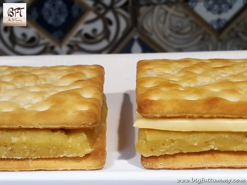 Doce de Grao Biscuit Sandwich