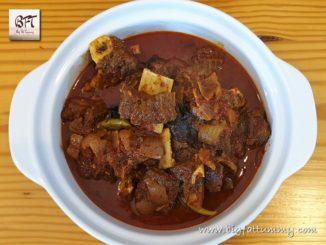 Beef Aad Maas (Goan Beef on the bone)