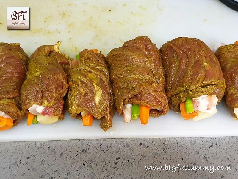 Preparation of Beef Rolado / Roulade