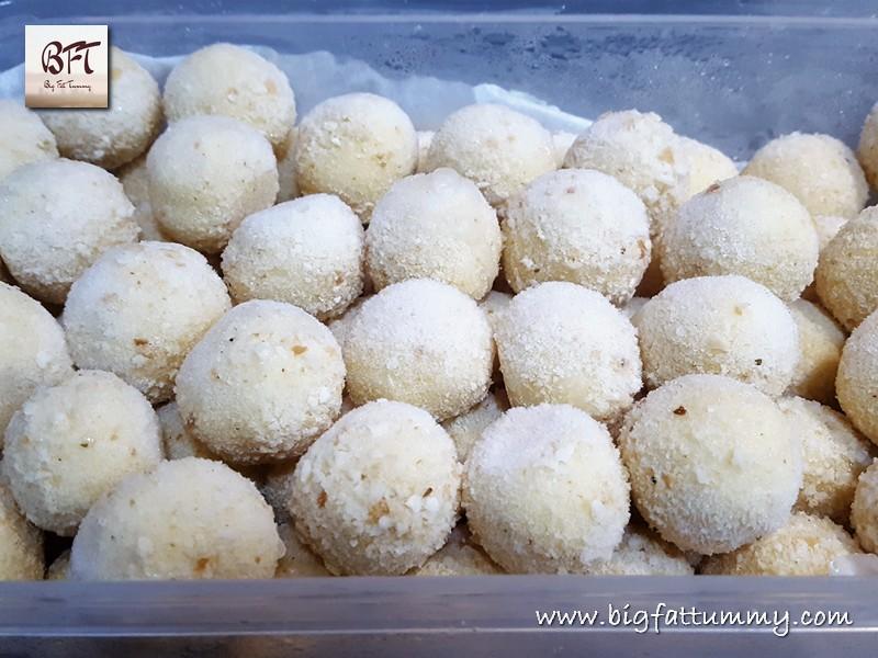 Preparation of Cheese Balls