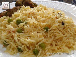 Goan Pressure Cooker Pea Pulao