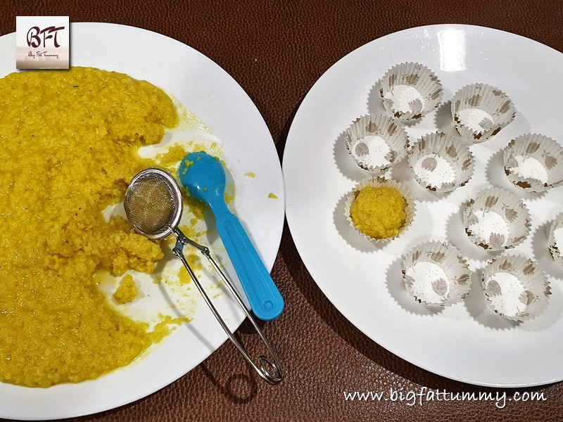 Preparation of Kesar Elaichi Malai Peda