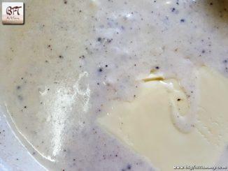 Preparation of Cheesy White Sauce
