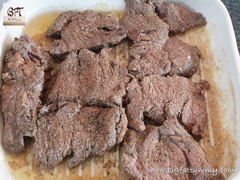 Preparation of Daddy's Fried Beef