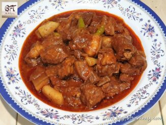 Slow Cooked Pork Curry