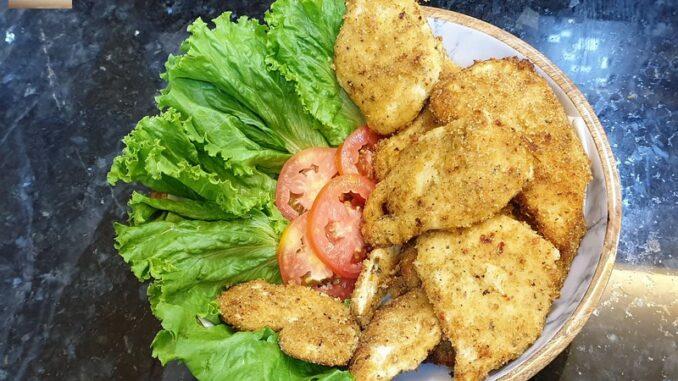 Crumb Fried Chicken Steaks