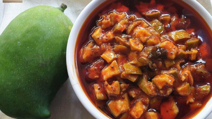 Quick Mango Miscut Pickle