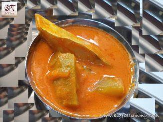 Raw Mango Pomfret Curry