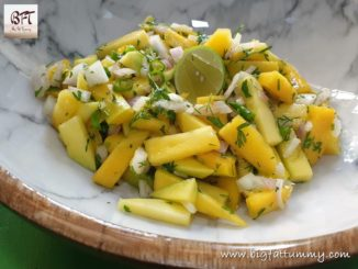 Raw Mango Salad