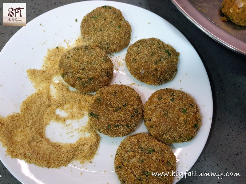Making of Raw Mince Chicken Cutlets