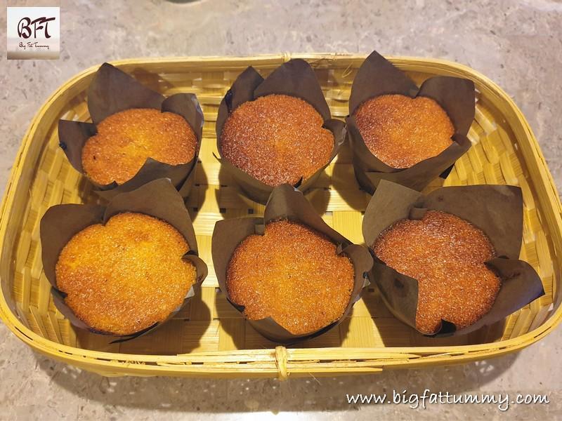 Dessicated Coconut Mango Cake Muffins