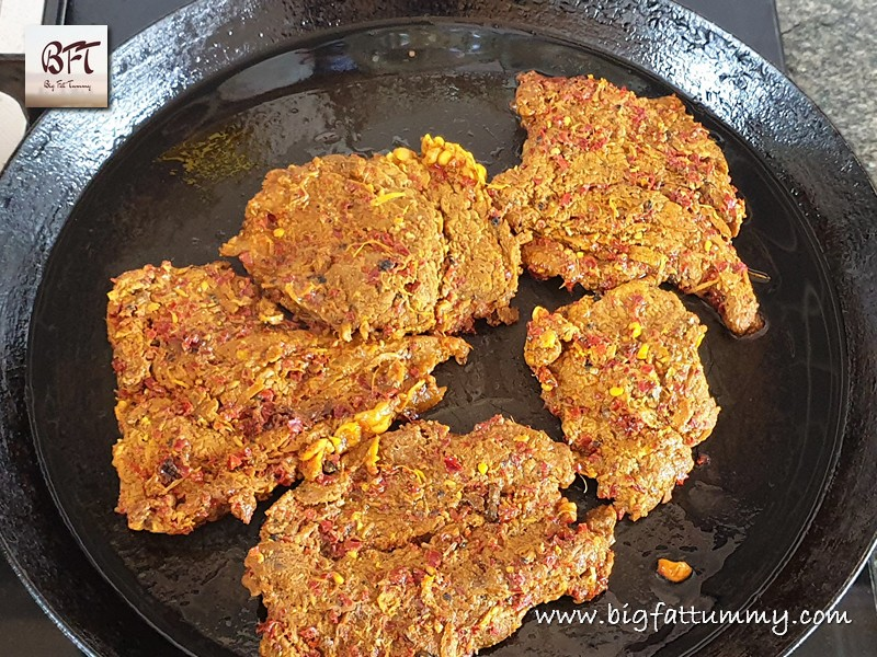 Preparation of Beef Masala Fried