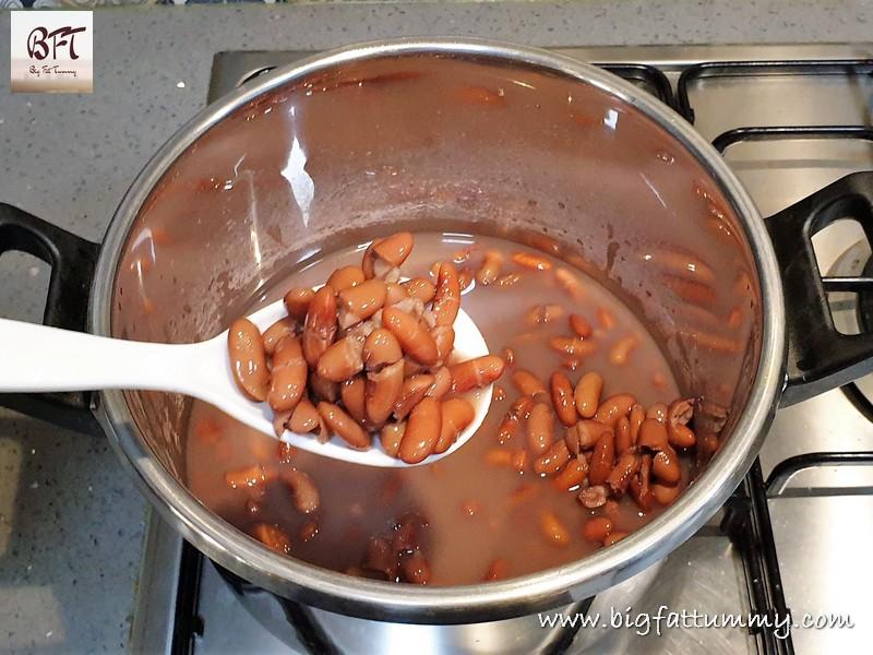 Preparation of Feijoada - Goan Cherizo Stew