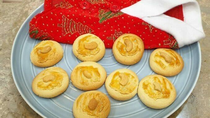 Rich Cashewnut Cookies