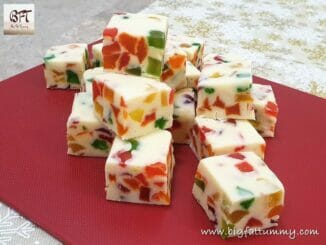 White Chocolate Fruit Fudge