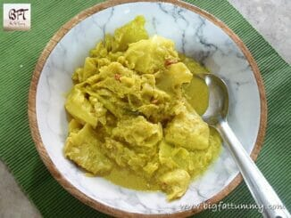 Cabbage Ros - Goan Cabbage Coconut Milk Curry